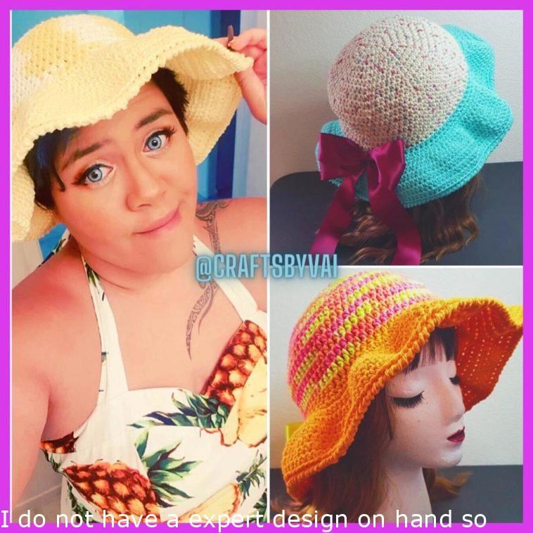 I don't have a professional model on hand so I guess I'll have to do. My Summer Hats