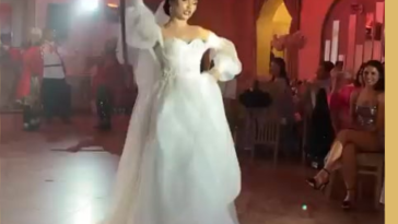 Hold my beer while I dance with a sword at my own wedding.