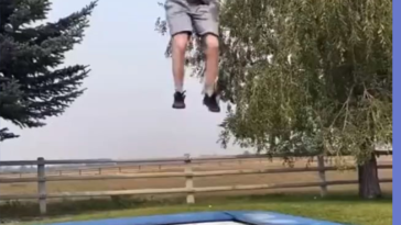 Check out this sweet backflip
