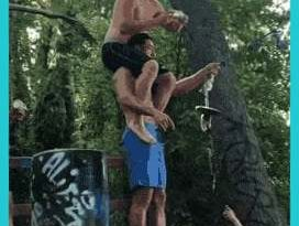 HMB and let's swing into the lake together