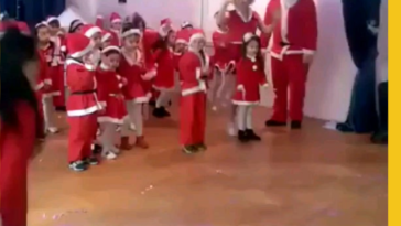 HMB while I light fireworks during a children's Christmas play
